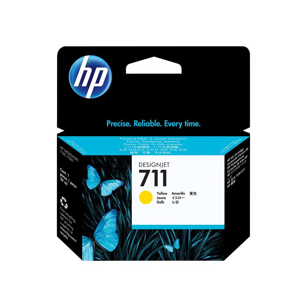 CARTUCHO HP 711 AMARELO - HPCZ132AI