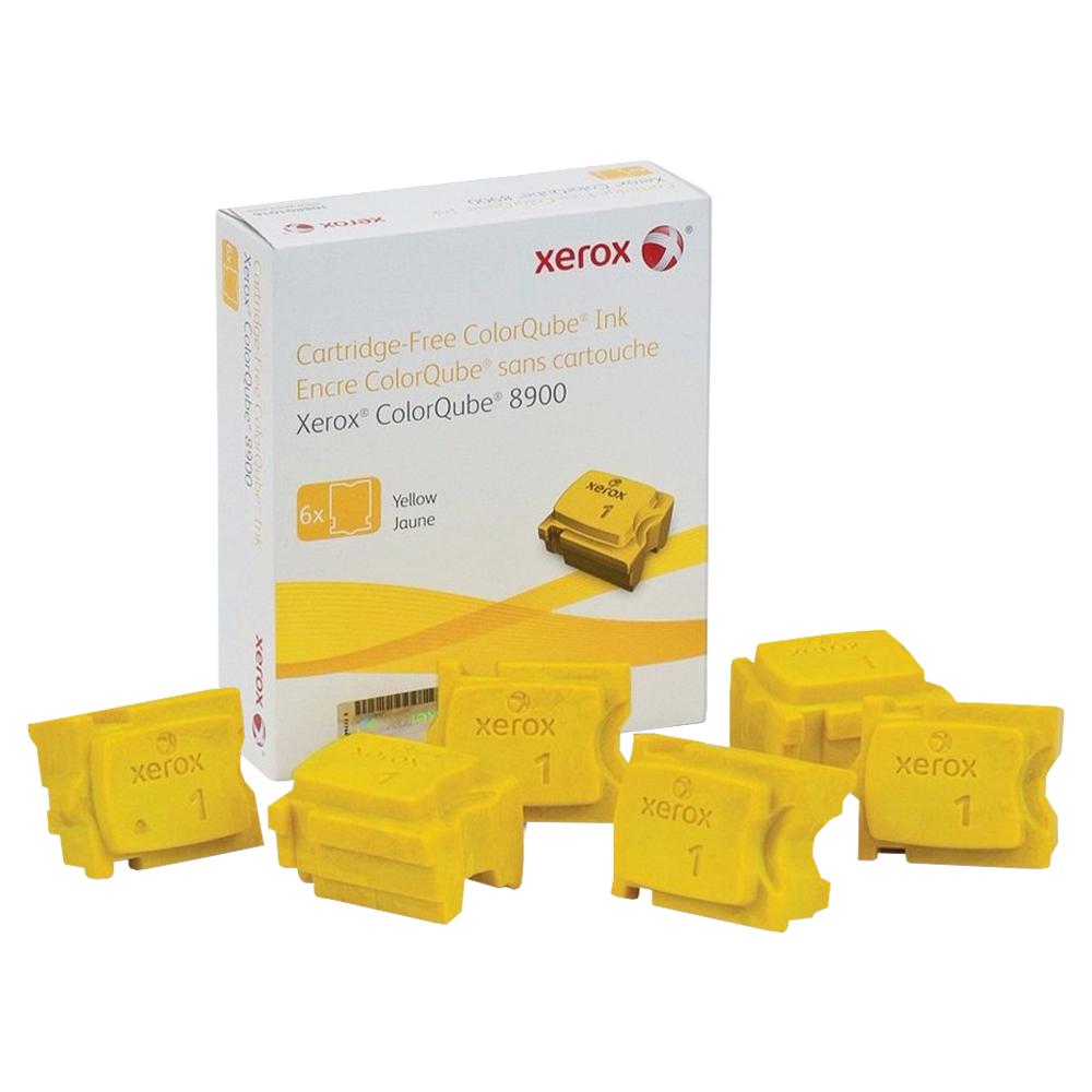 CERA XEROX 8900 YELLOW C/6 - 108R01024