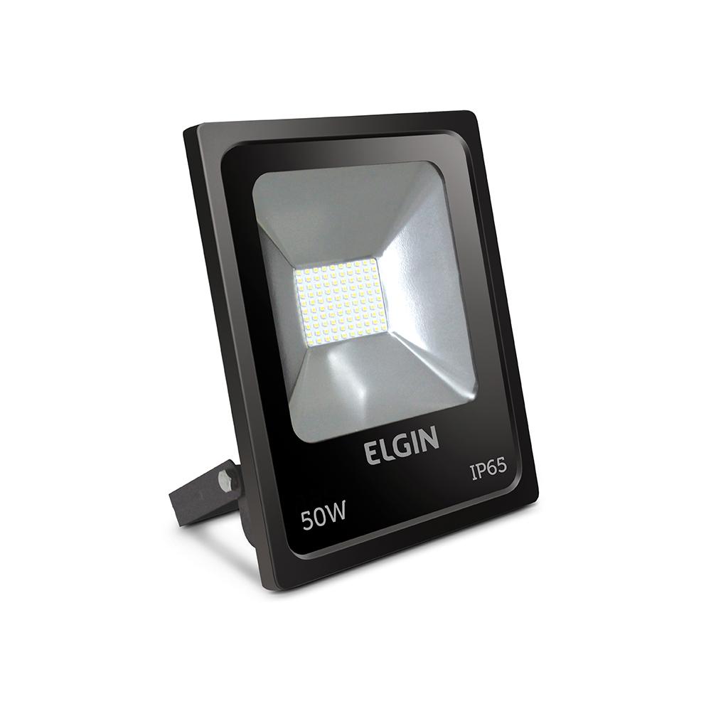 PROJETOR LED 50W 6500K PRETO ELGIN - 48RPLED50W00