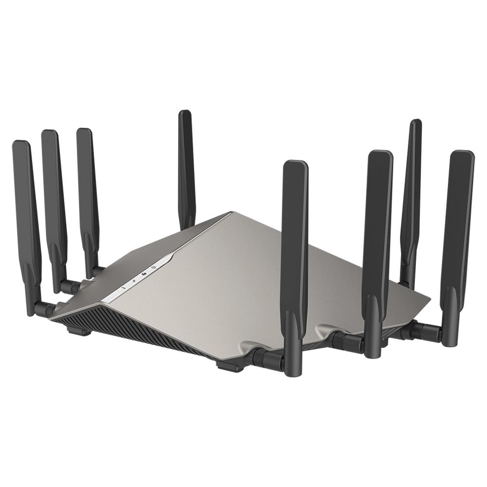 Roteador Wireless AC 6000Mbps 8 Antenas Gigabit 10/1000/2500 DIR-X6060