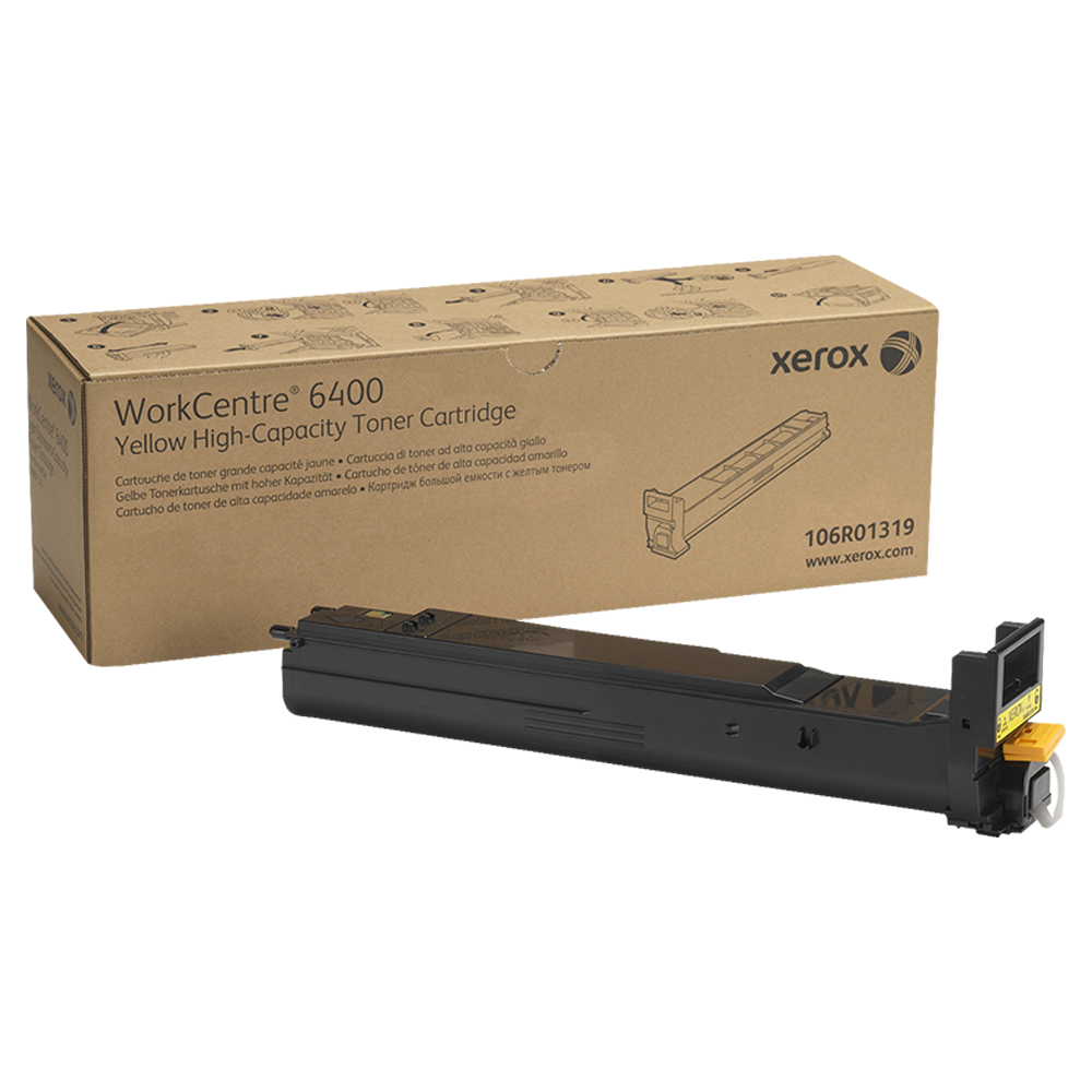 TONER AMARELO XEROX 6400 - 106R01319