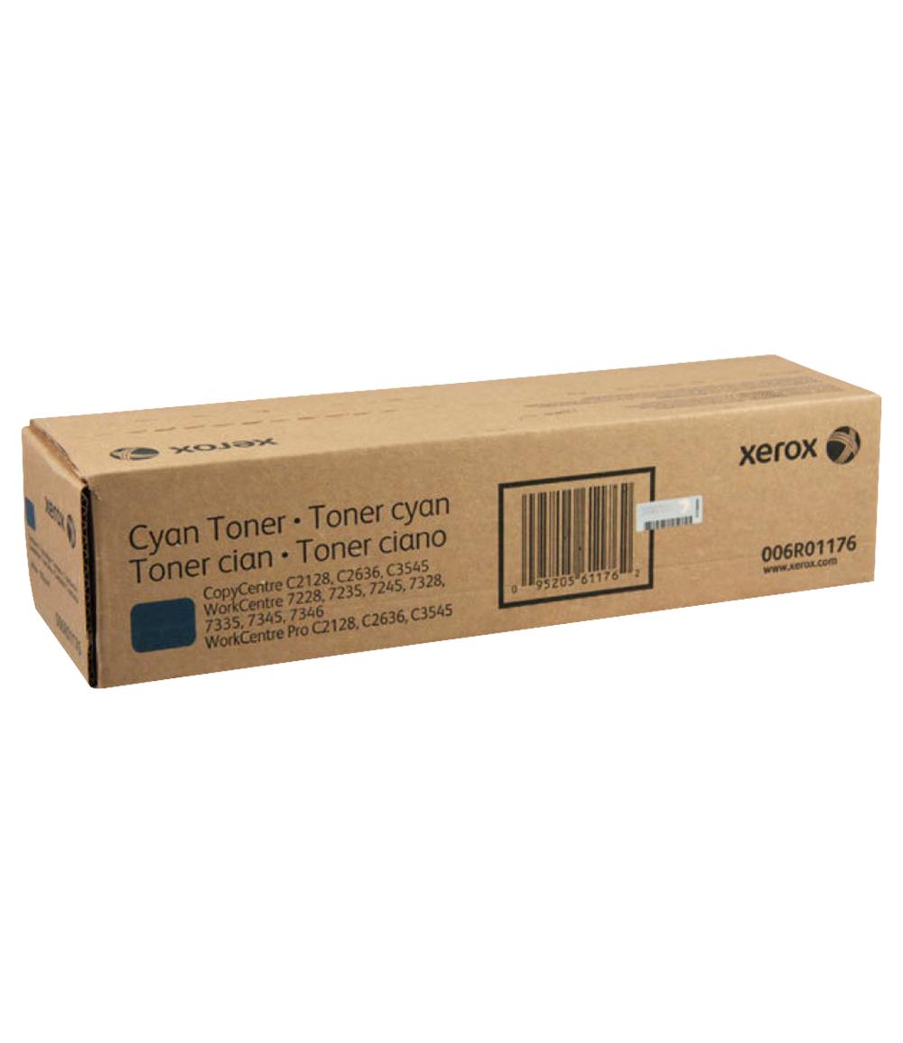 TONER CYANO XEROX 2128/2636/7328/3445 - 006R01176