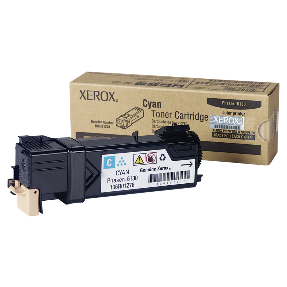 TONER CYANO XEROX 6130 - 106R01278