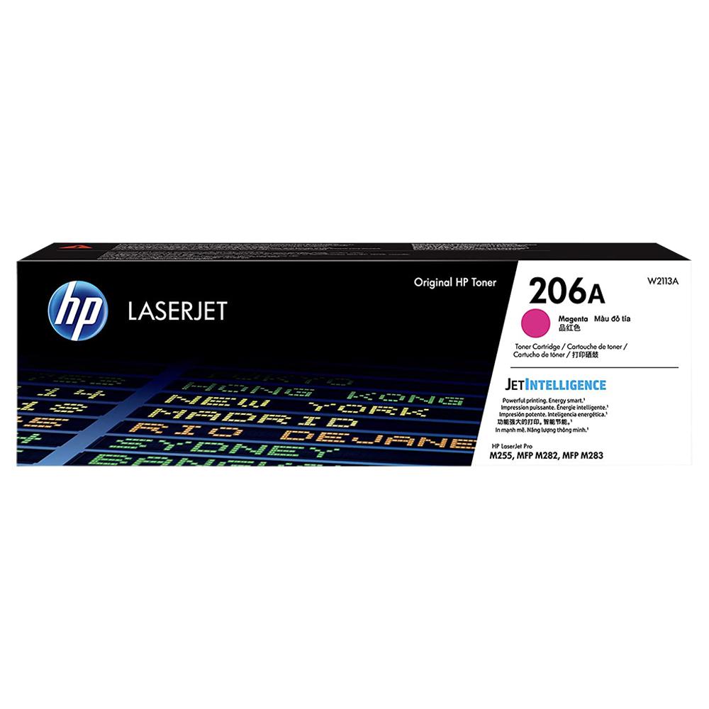 TONER HP MAGENTA 206A M283FDW 1.250 PAG W2113A
