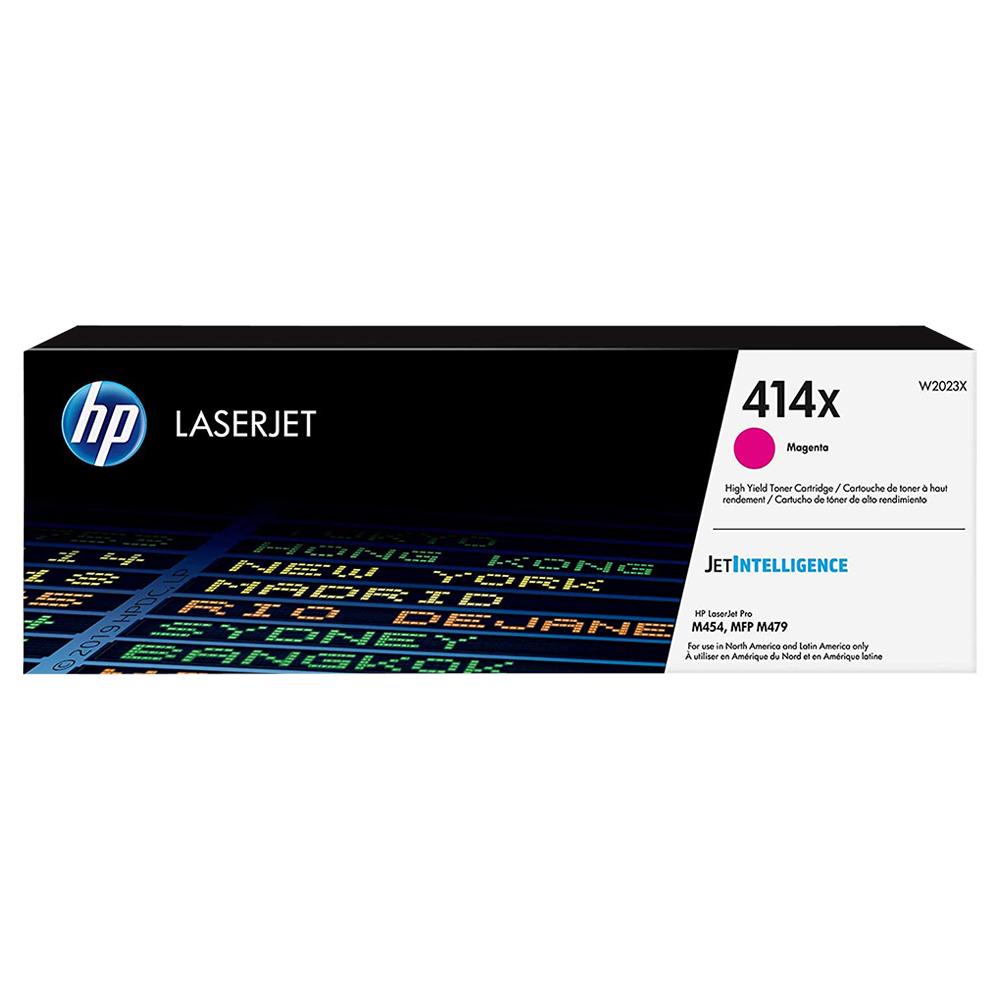 TONER HP MAGENTA 414X M454DN/DW/M479DW 6K W2023X