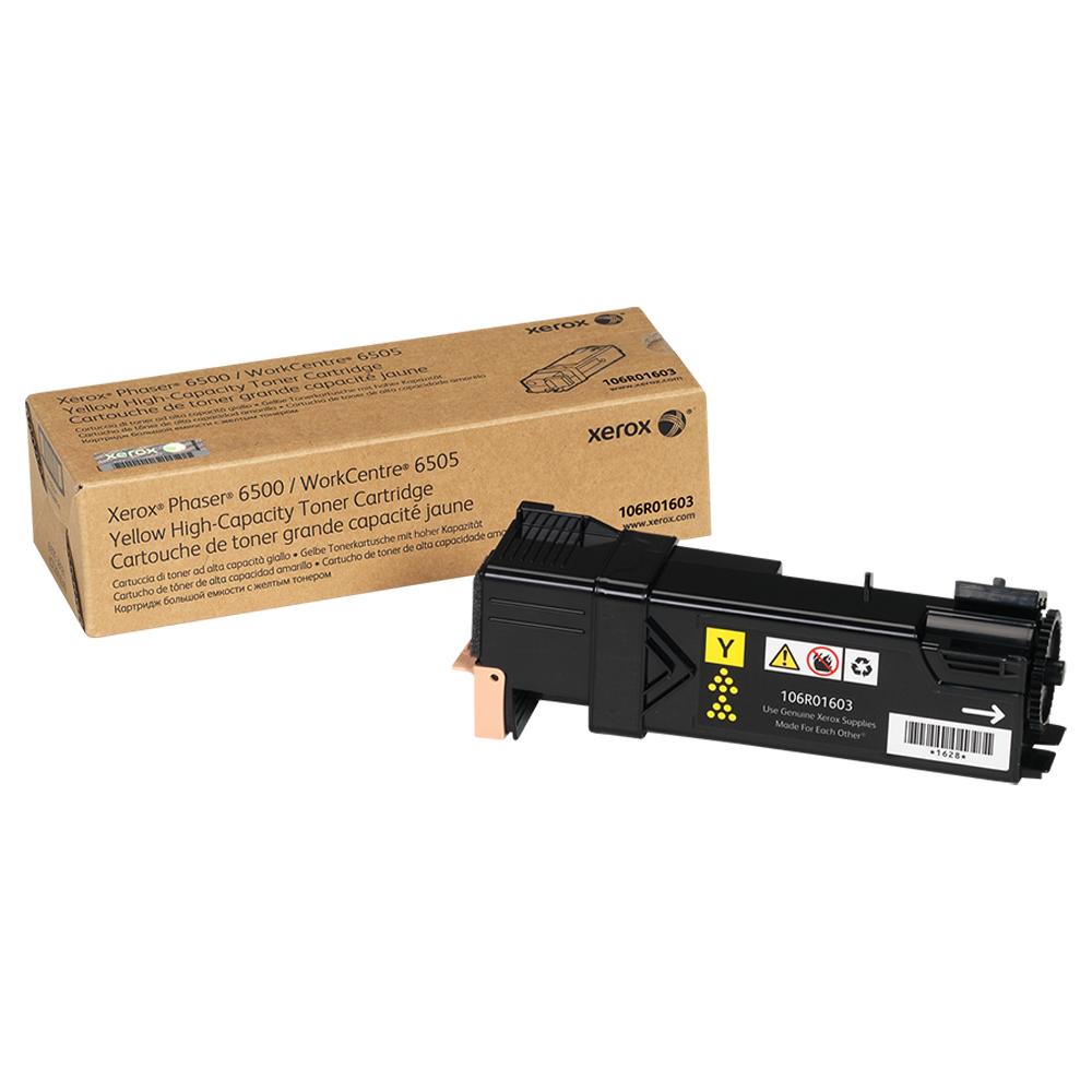 TONER XEROX 6500 AMARELO - 106R01603