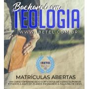 Curso Bacharel em Teologia | 60 Disciplinas - Curso Completo | Material Físico