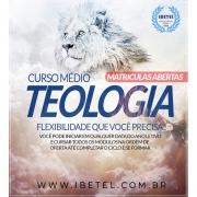 Curso Completo de Médio em Teologia | 31 disciplinas c/ 40h | 100% Digital