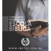 Curso Professor de EBD | Material Físico