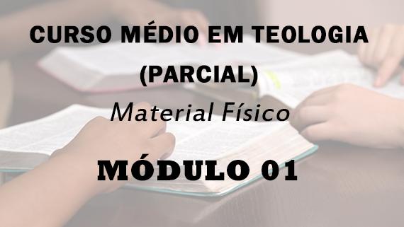 Módulo 01 do Curso Médio Em Teologia | Material Físico