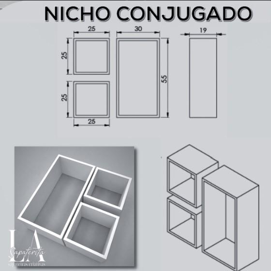 TRIO DE NICHOS