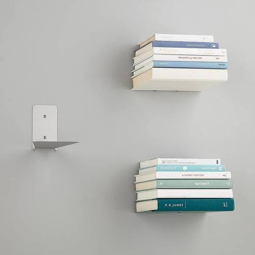 Prateleira invisível - Livros Flutuantes