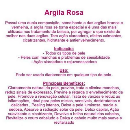 Argila Rosa 100G - EcoÂmbar