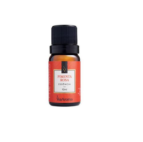 Essência de Pimenta Rosa Via Aroma - 10ml