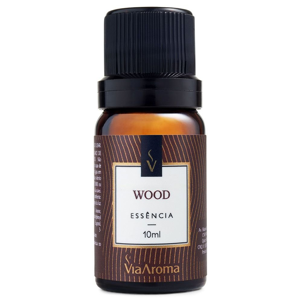 Essência de Wood Via Aroma - 10ml
