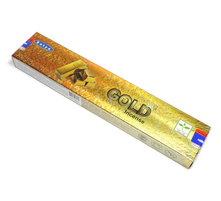 Incenso Gold Incense Satya - 15g