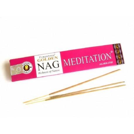 Incenso Golden Nag Medition  - 15g