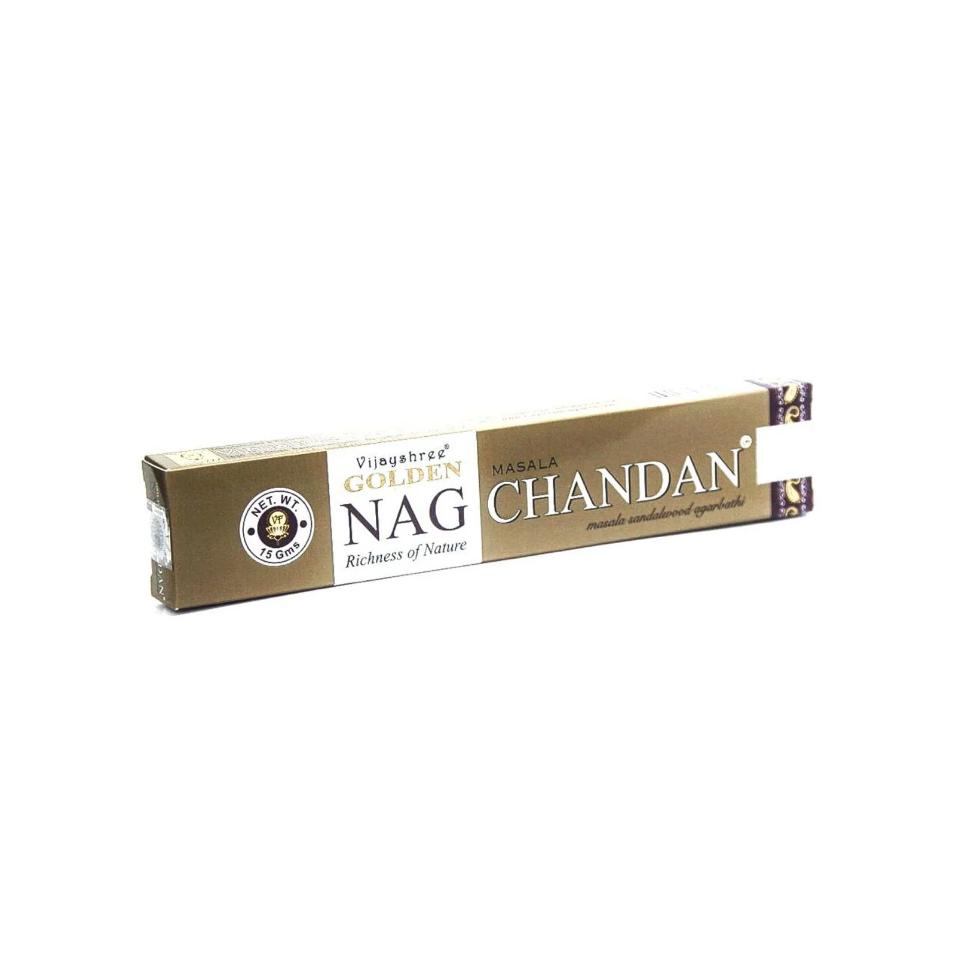 Incenso Masala Golden Nag Chandan - 15g