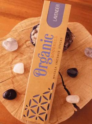 Incenso Organic Goodness Lavender