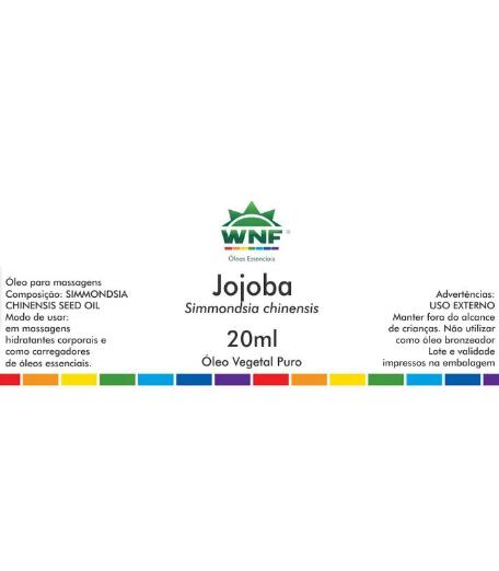 Óleo Vegetal Jojoba WNF - Seleção Exclusiva - 20ml