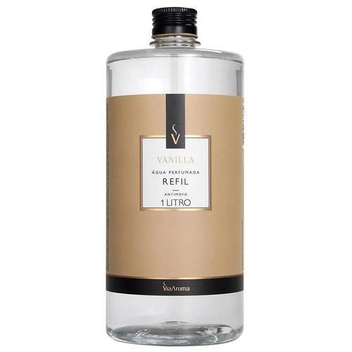 Refil Água Perfumada Para Tecido Aromatizador 1000ml Antimofo Essência Vanilla