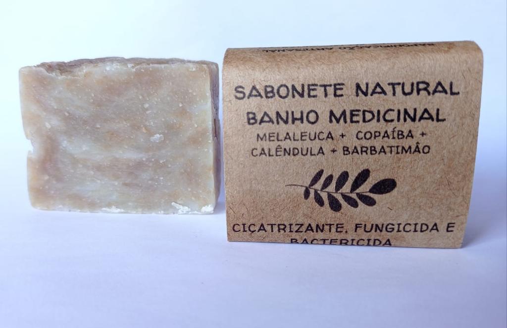 Sabonete Banho Medicinal 70gr  Jurema Saboaria Natural
