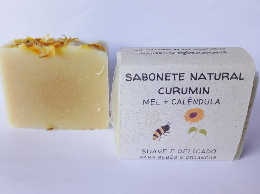 Sabonete Facial Curumin 70gr  Jurema Saboaria Natural