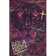 Bíblia ACF SLIM Lion Chalk Letra Normal: Almeida Corrigida Fiel