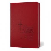 Bíblia AEC  vermelho cruz