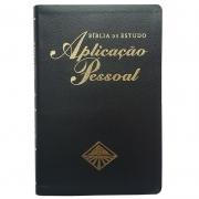 Bíblia de Estudo Aplicação Pessoal Média - Luxo - Preta - (ARC)