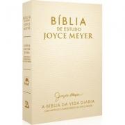 Bíblia De Estudo Joyce Meyer - Creme
