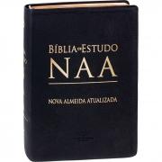 Bíblia de Estudo NAA - Couro Legítimo
