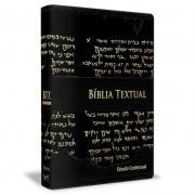Bíblia de Estudo Textual | Letra Gigante | Capa Preta Luxo