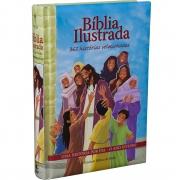 Bíblia Ilustrada  365 Histórias Selecionadas: Nova Tradução na Linguagem de Hoje (NTLH)