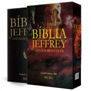 Bíblia Jeffrey Estudos Proféticos - Preta/Dourado