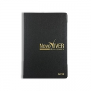 Bíblia Novo Viver | NVI | Letra Normal | Capa Semi-Luxo Preta