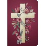 Bíblia NVT 960 Cruz Flores - Letra Normal: Nova Versão Transformadora