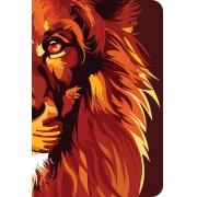 Bíblia NVT 960 Lion Colors Fire - Letra Normal: Nova Versão Transformadora