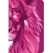 Bíblia NVT 960 Lion Colors Pink - Letra Normal: Nova Versão Transformadora