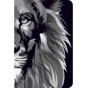 Bíblia NVT 960 Lion Lion Colors Black & White - Letra Normal: Nova Versão Transformadora