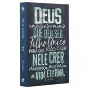 BÍBLIA NVT LN JOÃO 3.16 AZUL