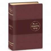 Bíblia Peshitta Com Referências | Luxo Vinho