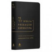 Bíblia Pregação Expositiva | RA |PU luxo preto