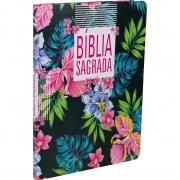 Bíblia Sagrada Slim Flores - (NAA)