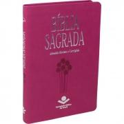 Bíblia Sagrada / Pink / Slim - (ARC)