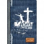 Biblia Sagrada Jesus te Ama   NVI   Letra Normal   Capa Dura Soft-Touch