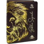 Bíblia Sagrada Leão / Letra Grande - (NAA)