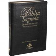 Bíblia Sagrada Letra Extragigante / Preto - (ARA)