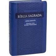 Bíblia Sagrada Letra Gigante / Azul - (ARC)