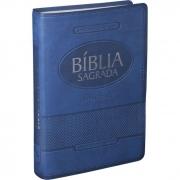 Bíblia Sagrada Letra Gigante / AZUL - (ARA)